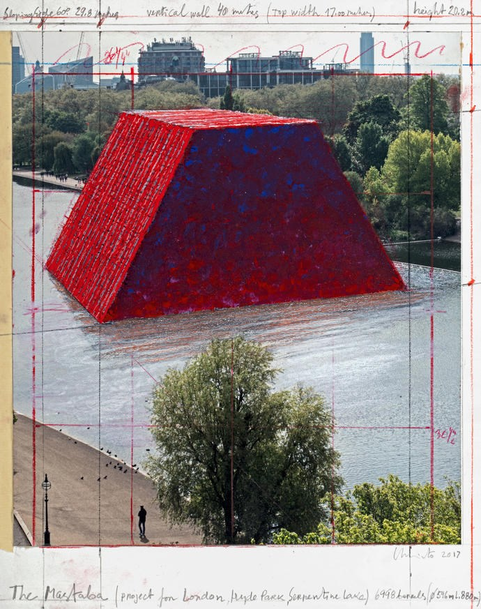Christo Will Create Temporary Sculpture in Hyde Park, London