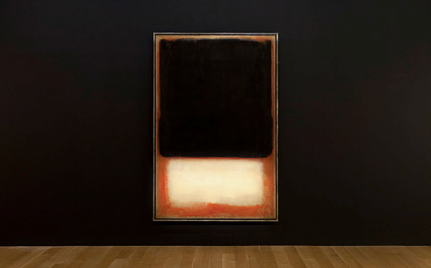 Mark Rothko's Monumental Canvas No. 7 (Dark Over Light), 1954