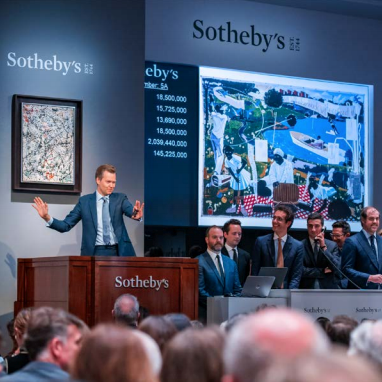 15 World Auction Records Established on Sotheby's Sale of Contemporary Art