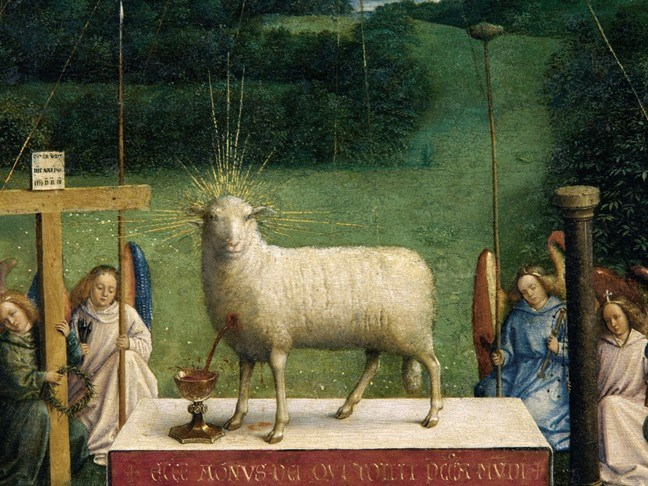 Major Discovery in van Eyck's Ghent Altarpiece, Adoration of the Mystic Lamb