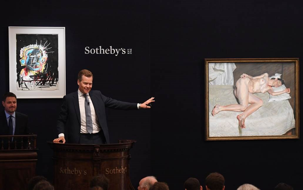 Most Valuable Lucian Freud Sold in London - £22.5 Million at Sotheby's