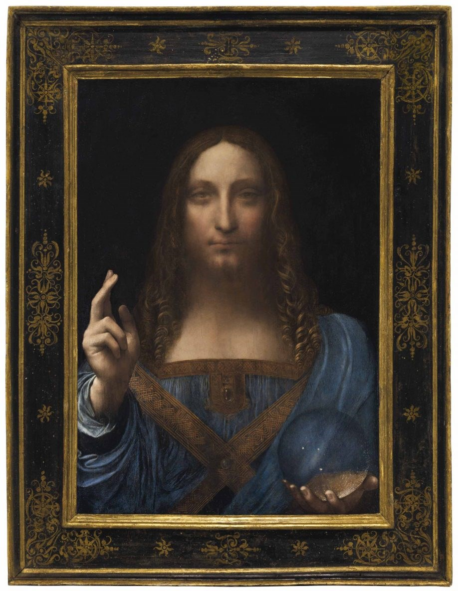 Da Vinci's Salvator Mundi Will Be Exhibited from September