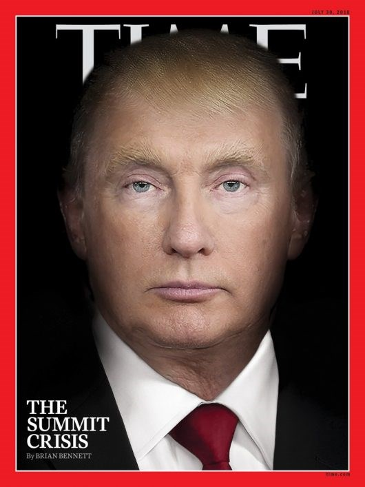 Trump-Putin TIME Magazine Cover