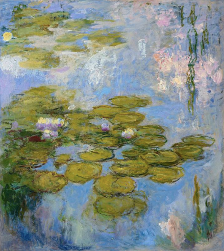 Refreshed Claude Monet Exhibition in Albertina