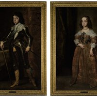 Two Royal Portraits by Van Dyck To Lead Sotheby's Old Masters Sale This Autumn