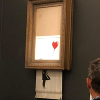 Banksy Art Self-Destructs After Selling