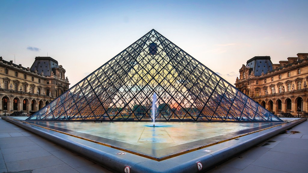 The Louvre Pyramid Turns 30