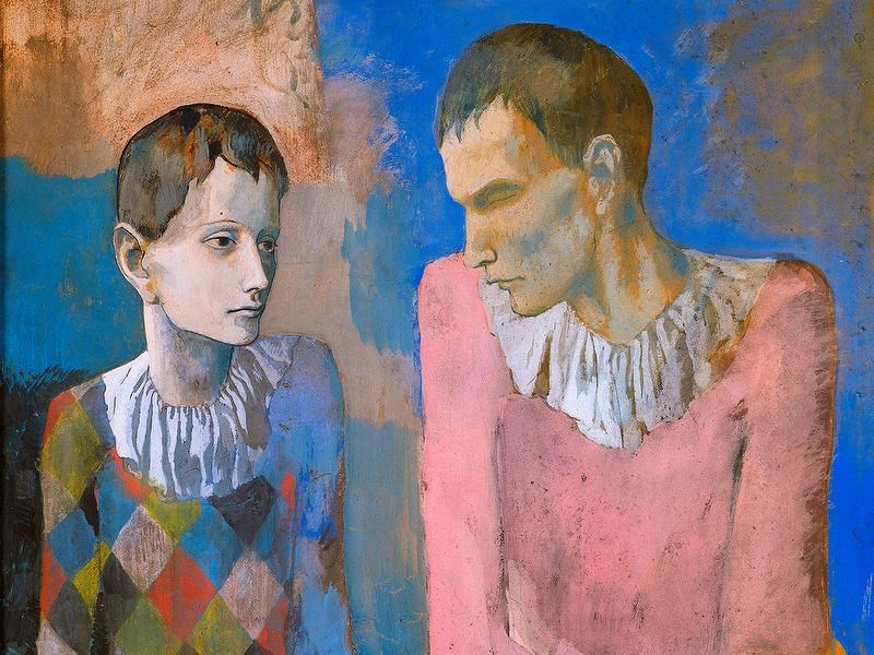 Picasso's Blue and Rose Periods Exhibition in Basel, Switzerland
