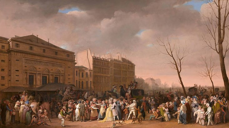 Boilly: Scenes of Parisian Life at the National Gallery, London