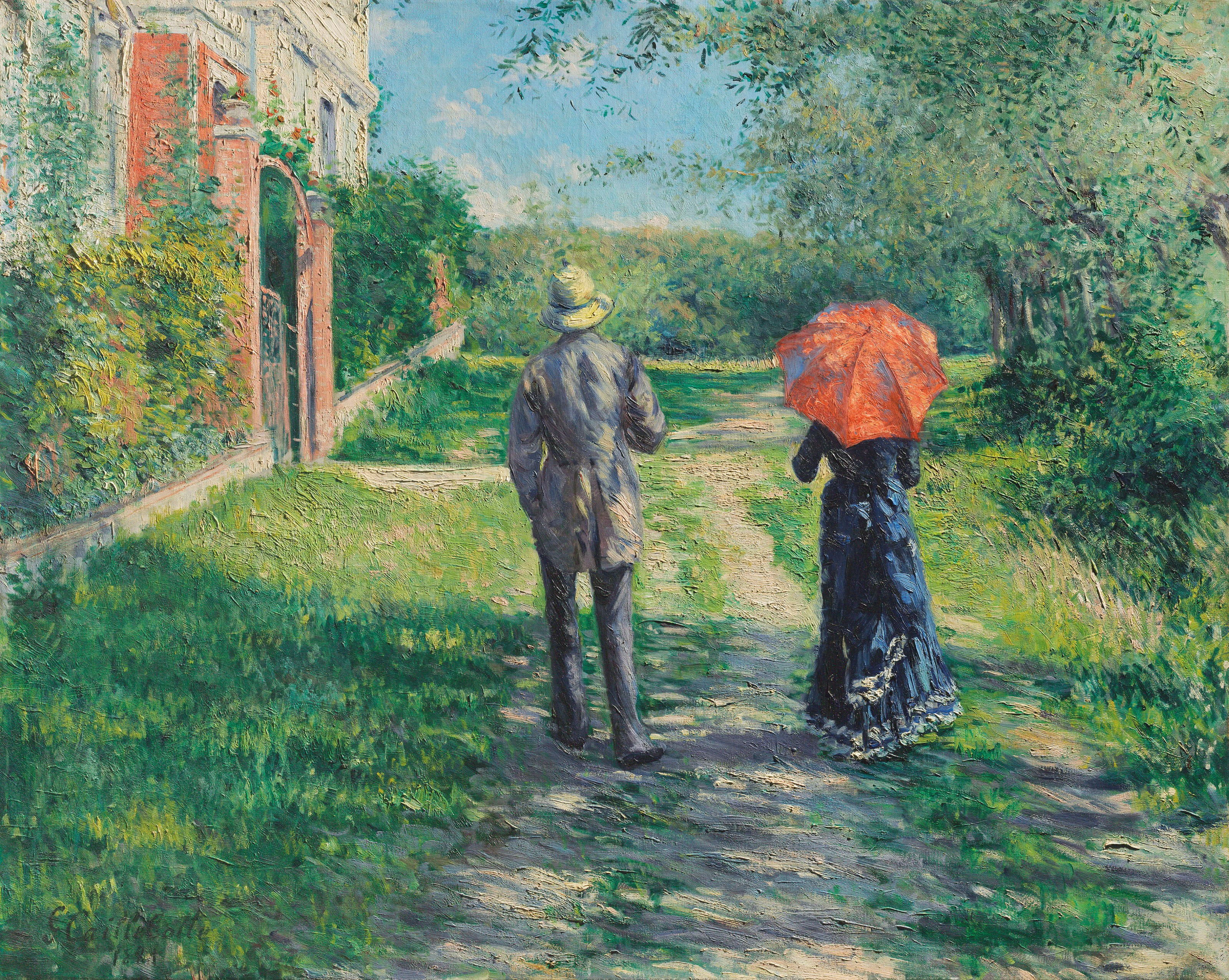 Chemin Montant by Caillebotte  at Christie's Impressionists
