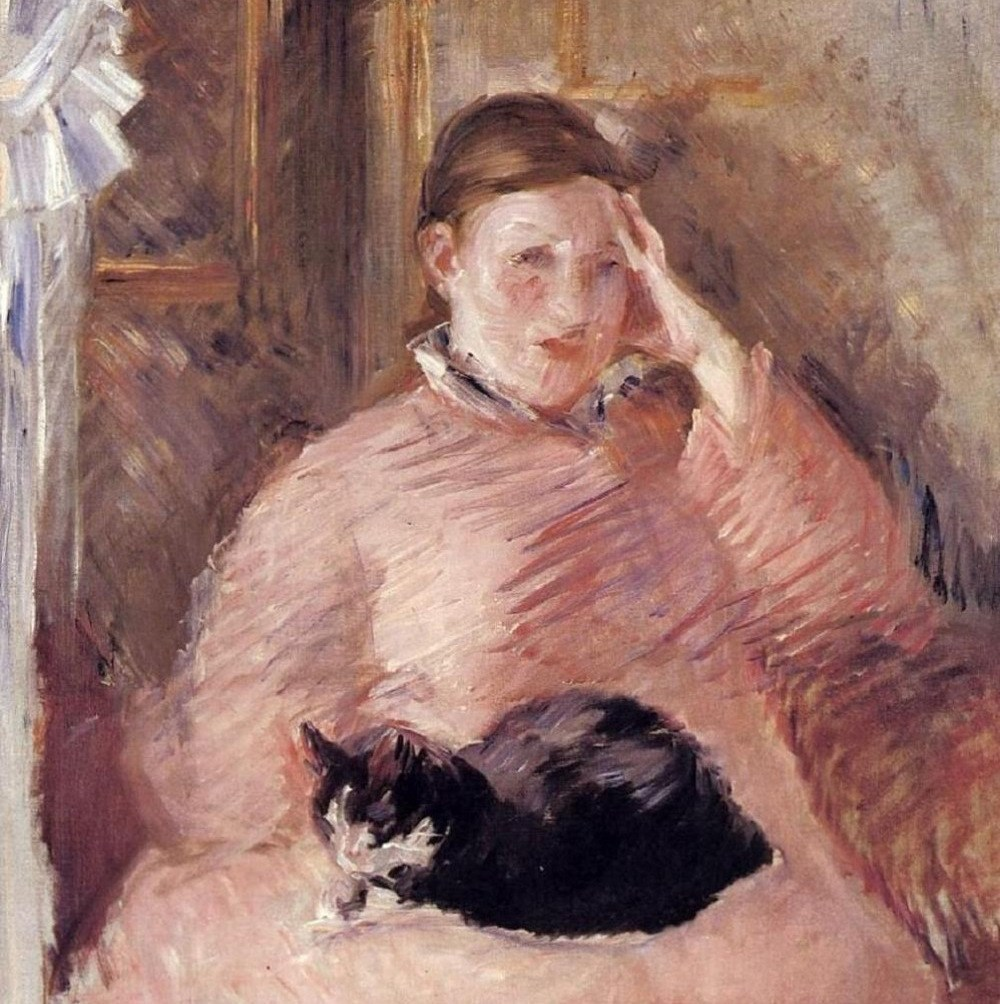 Manet's Symbolic Use of the Black Cat as a Female Companion