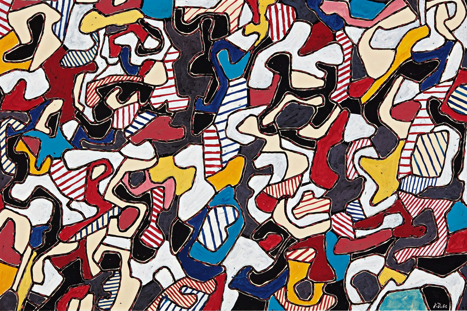 Visual Complexity of Dubuffet's 'Conjectures' at Sotheby's Contemporary Sale