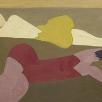 Two Figures on Beach by Milton Avery at American Art, Sotheby's