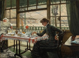 Tissot's Room Overlooking the Harbour at Sotheby's