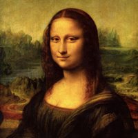 The Mona Lisa Temporarily on Display in the Galerie Médicis