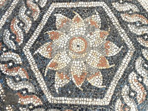 Beautiful Mosaic Dated To Graeco-Roman Times Discovered In Alexandria, Egypt