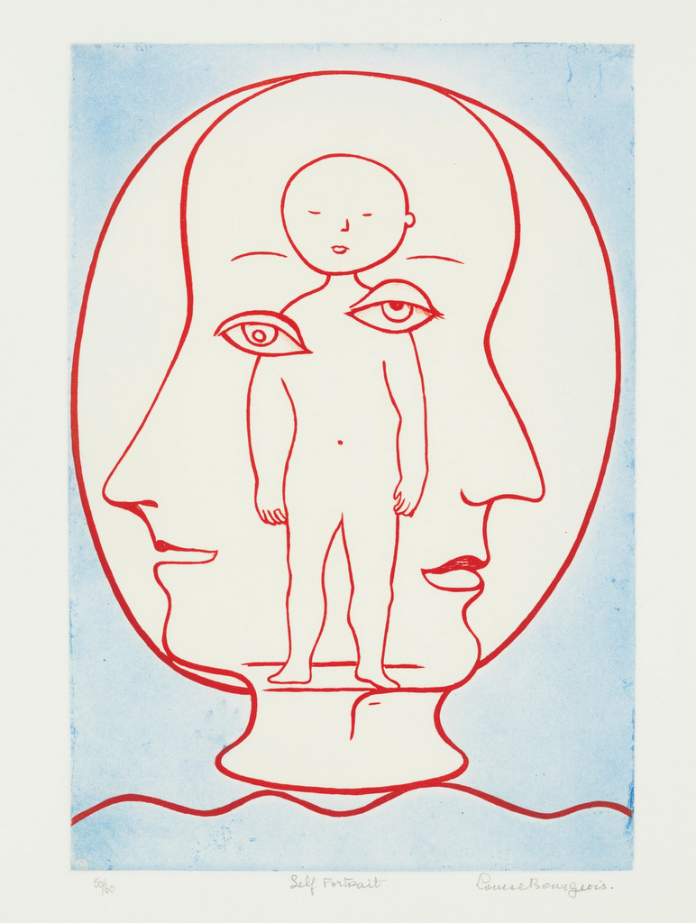 Self Portrait, 1990,  Louise Bourgeois