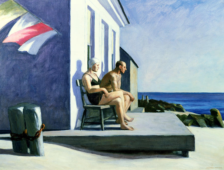 Edward Hopper - Sea Watchers, 1952