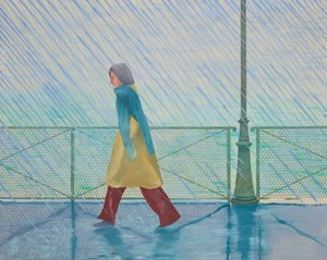 Hockney's Yves-Marie in the Rain at Sotheby's Contemporary