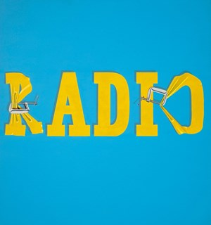 Ed Ruscha's Hurting the Word Radio #2 (1964) Sold for a Record 52 Million Dollars
