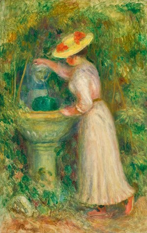 Renoir's Jeune Fille Leads the Impressionist Sale at Sotheby's