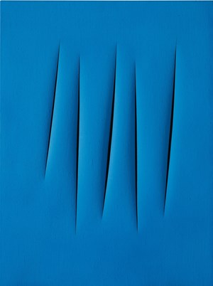 Fontana's Concetto Spaziale at Sotheby's Contemporary
