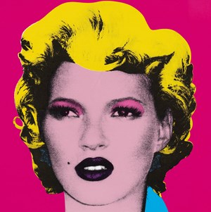 Banksy's Kate Moss at Christie's Prints Sale