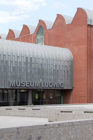 Closing of the Museum Ludwig, Cologne until April 19