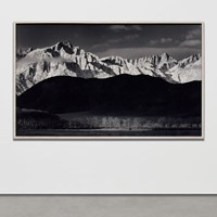Ansel Adams's Winter Sunrise Soon at Phillips