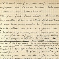 Van Gogh Museum Acquires Letter from Van Gogh and Gauguin